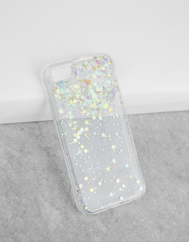 Transparent stars iPhone 5/5s case