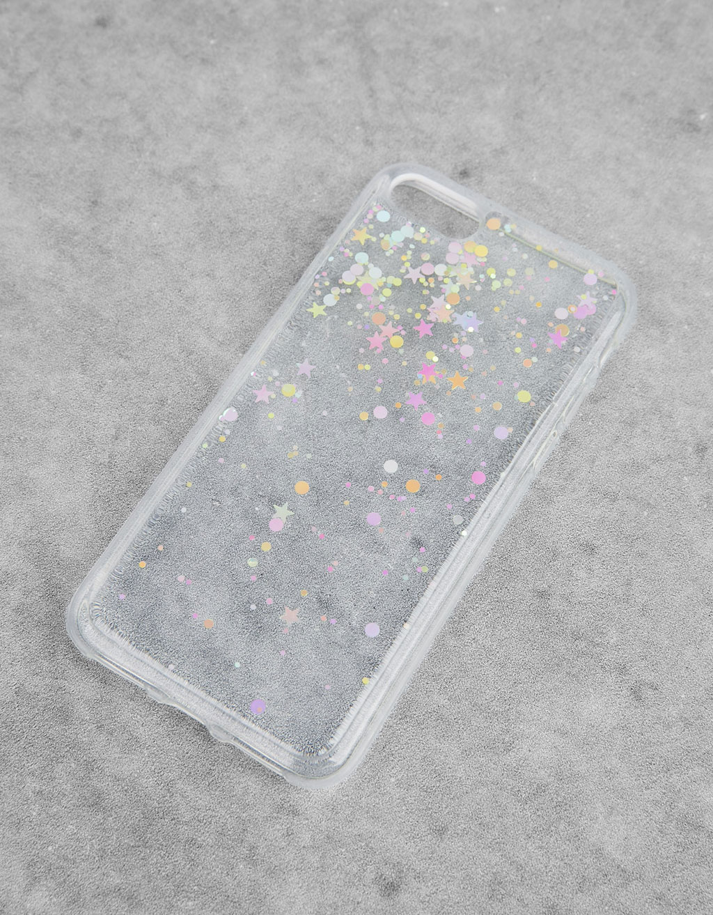 Cover trasparente stelle iPhone 7/7s