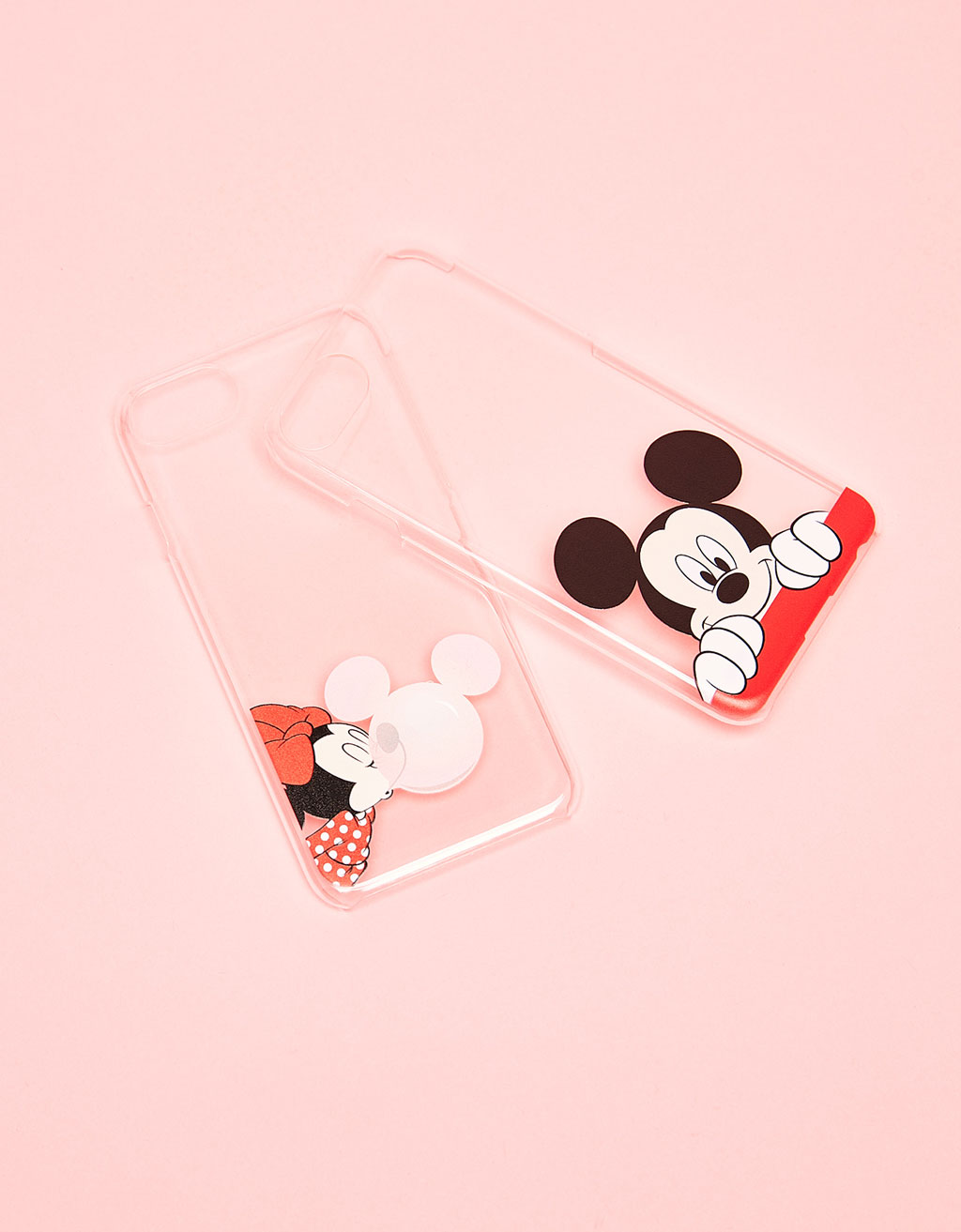 Set of 2 Mickey & Minnie iPhone 6/6s/7 cases