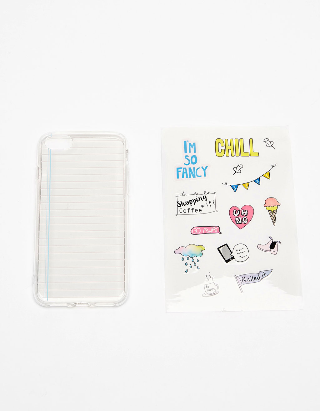 Stickers iPhone 7 case