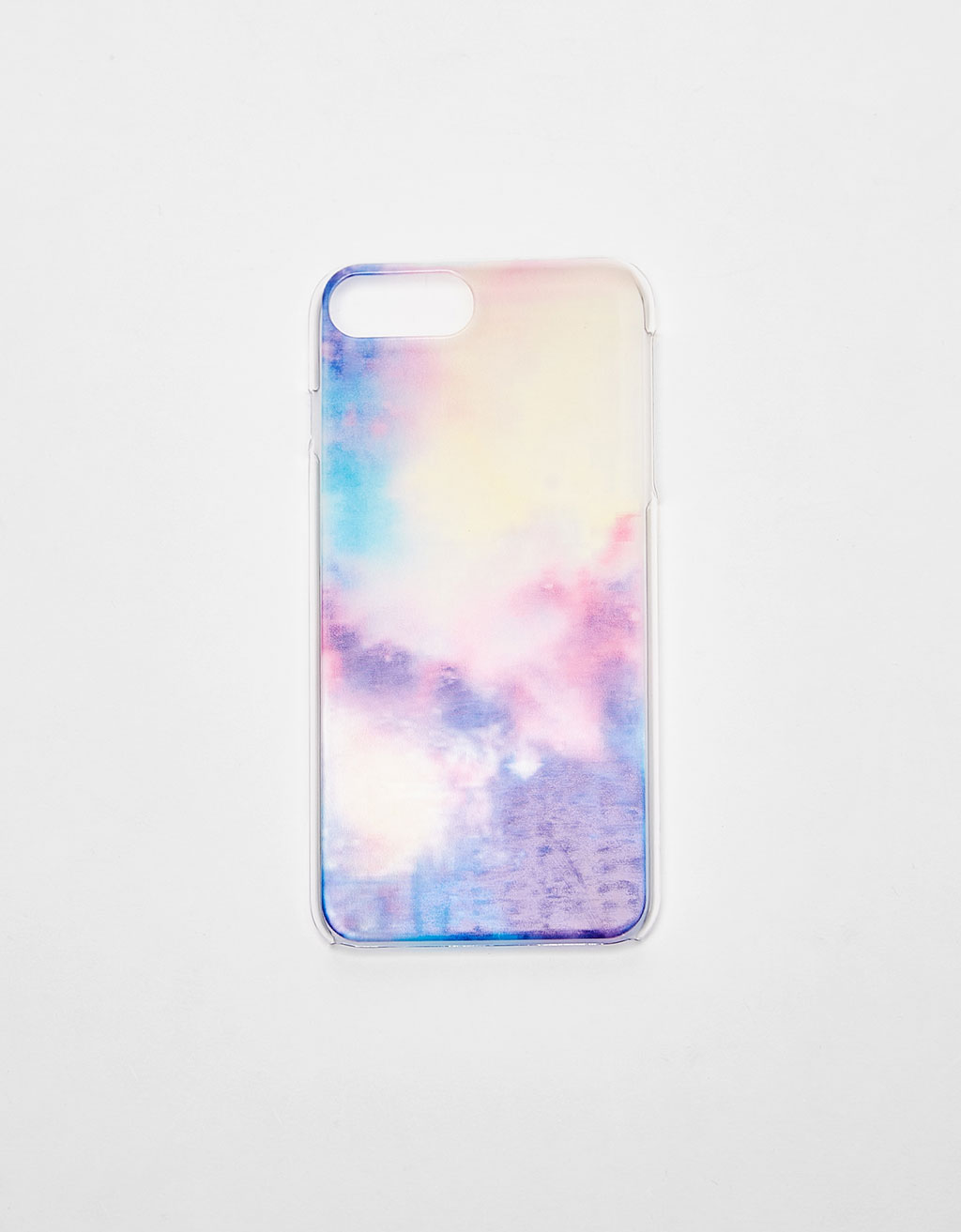 Coque motif cosmos transparente iPhone 6 plus/7 plus