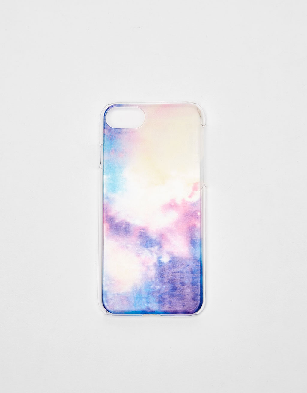 Transparent cosmic iPhone 6/6s/7 case