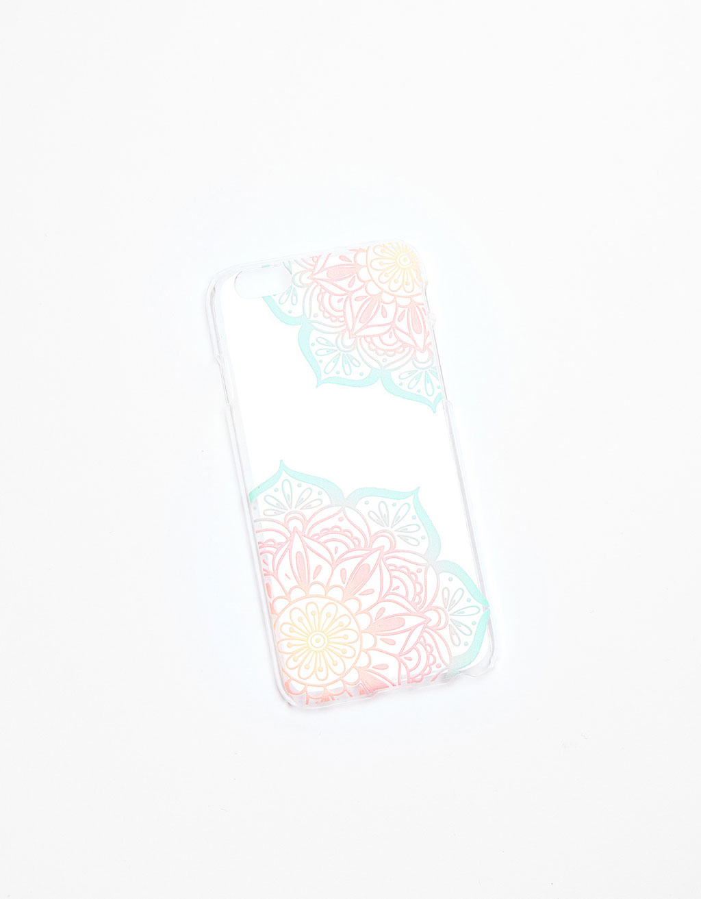 Pastel iPhone 6/6s case with raised pattern