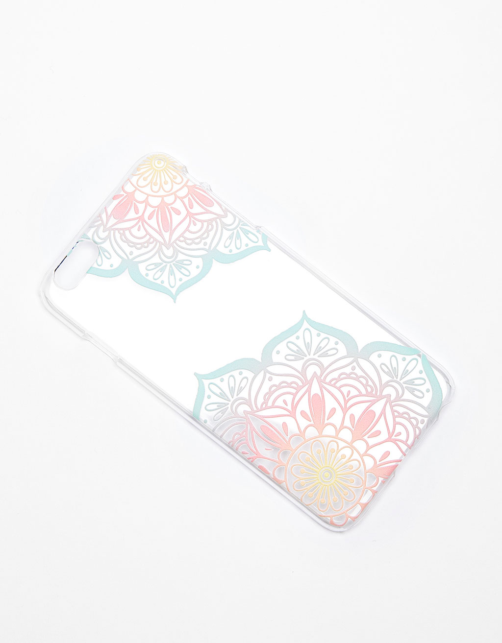 Pastel iPhone 6 plus case with raised pattern
