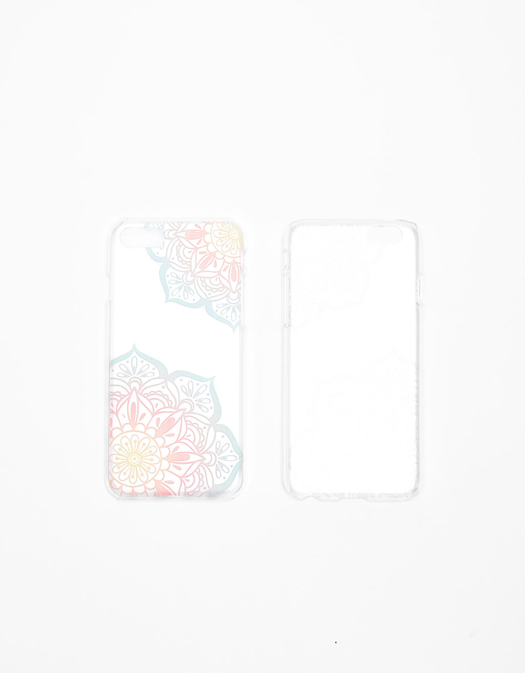 Pastel iPhone 7 case with raised pattern