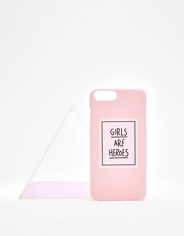 'Girls are Heroes' iPhone6 plus/7 plus case