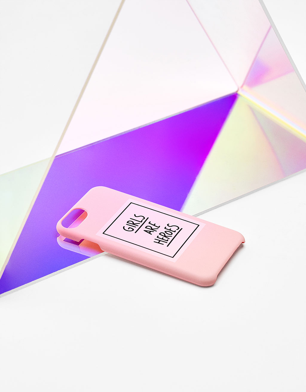 Carcasa 'Girls are Heroes' iPhone6/6s/7