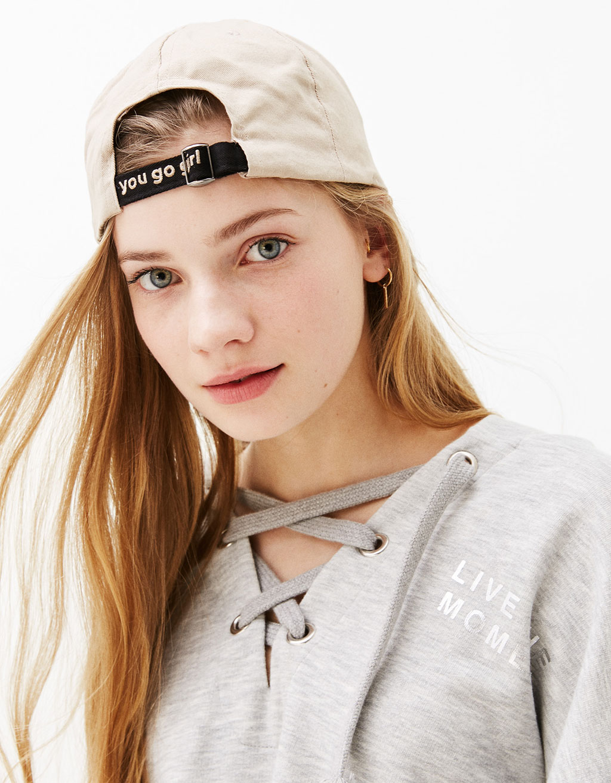'You go girl' slogan hat