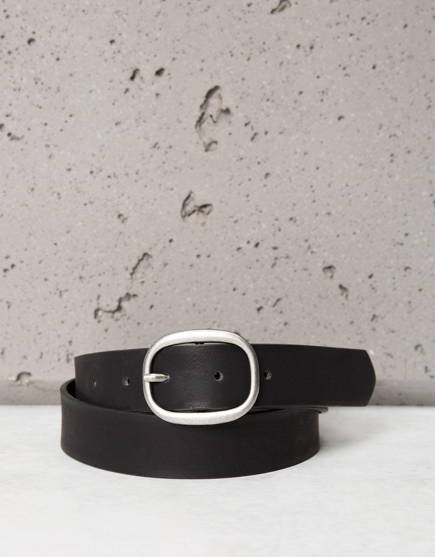 Cintura con fibbia semplice