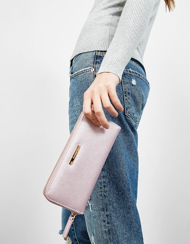 Textured purse