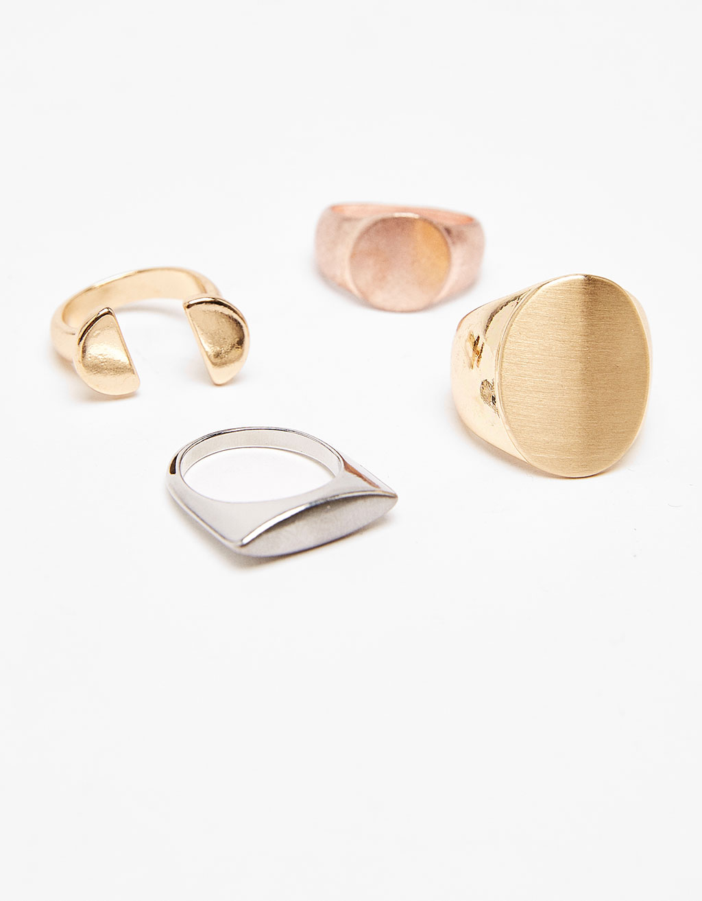 Set of 4 coloured rings