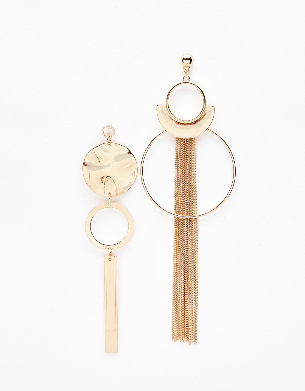 Hoop medley earrings