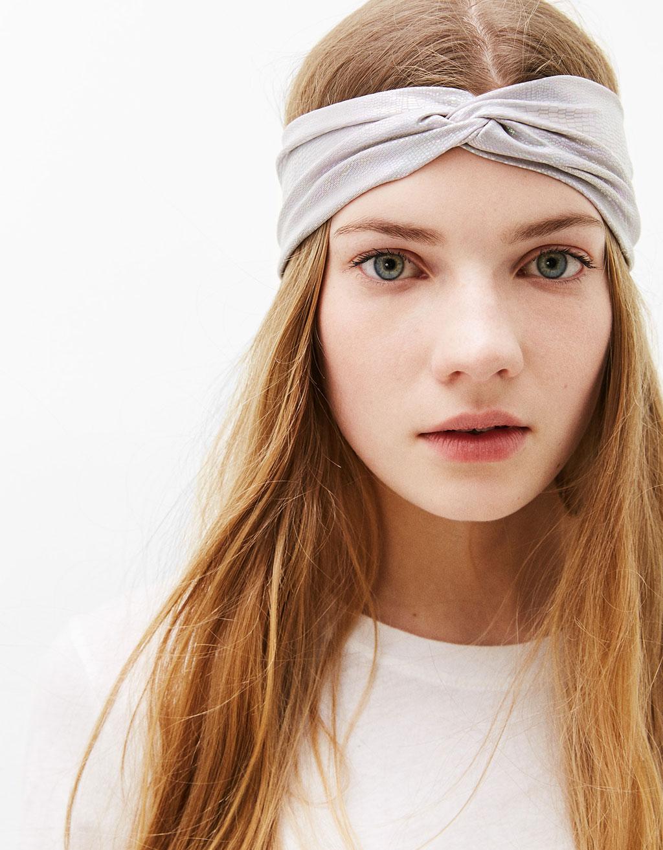 Iridescent headband