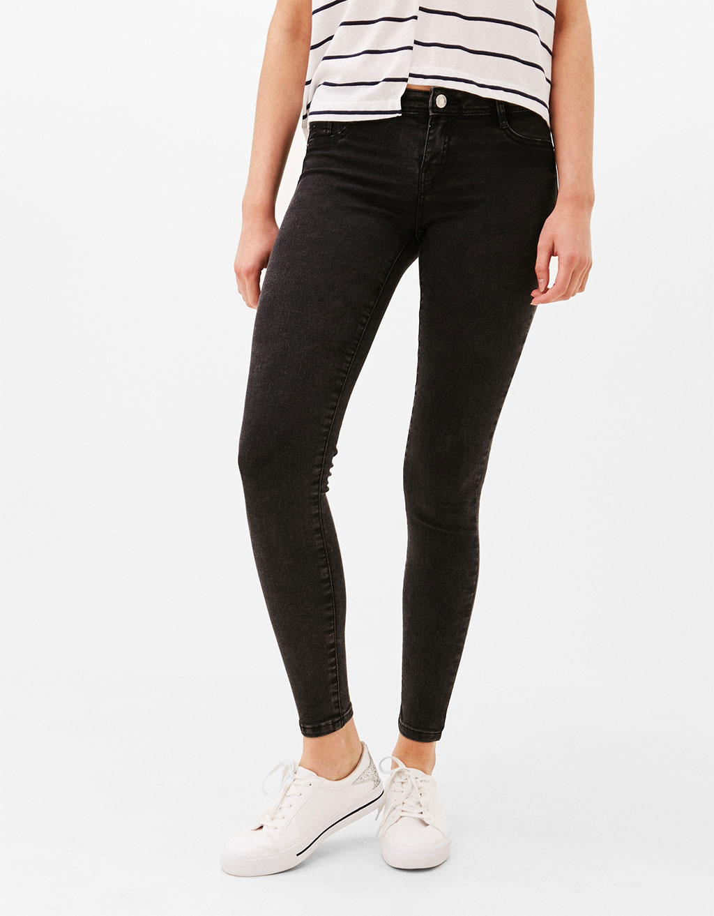 Jegging low rise high elasticity