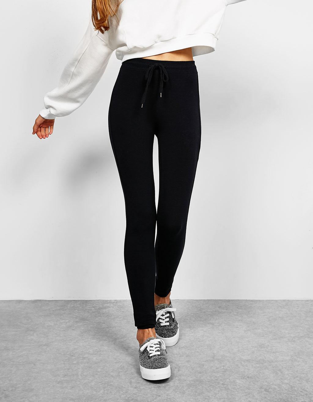 Plush leggings