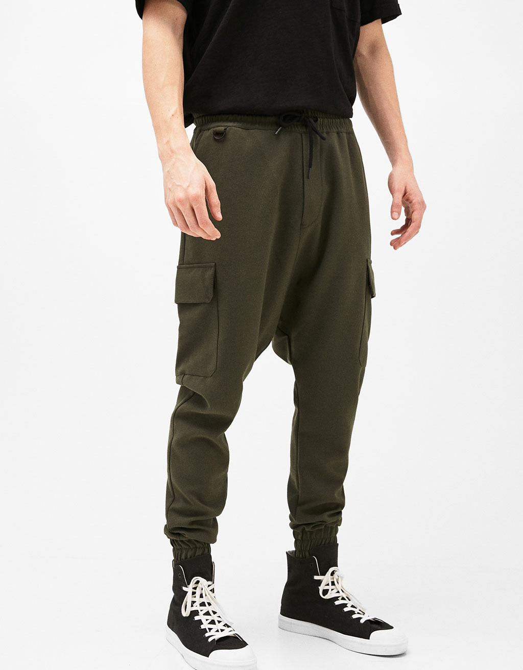 Baggy Fit cargo joggers