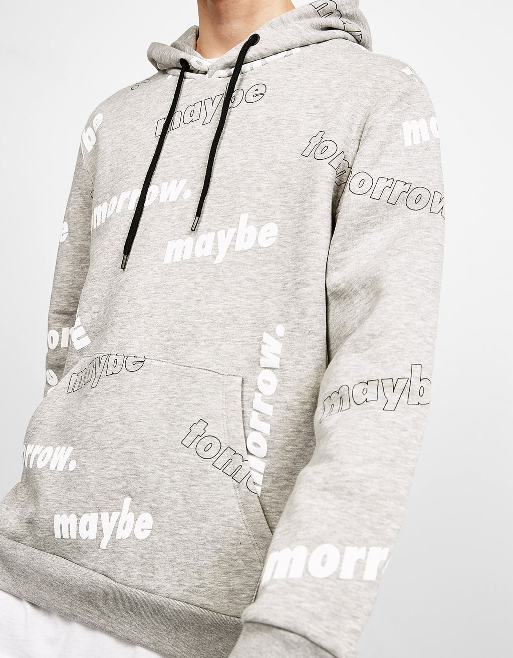 Maybe Tomorrow hooded sweatshirt