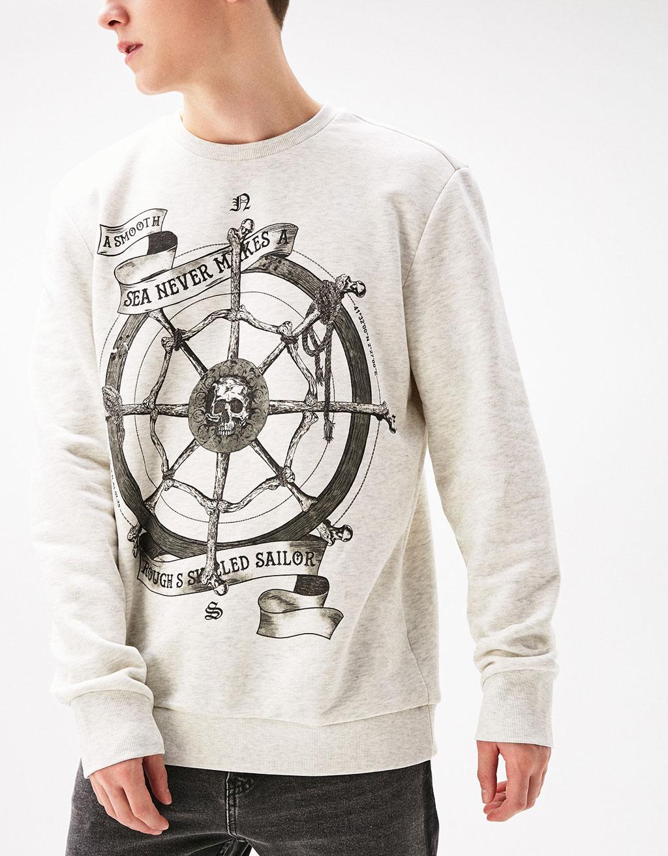 Harlem sweatshirt/skull