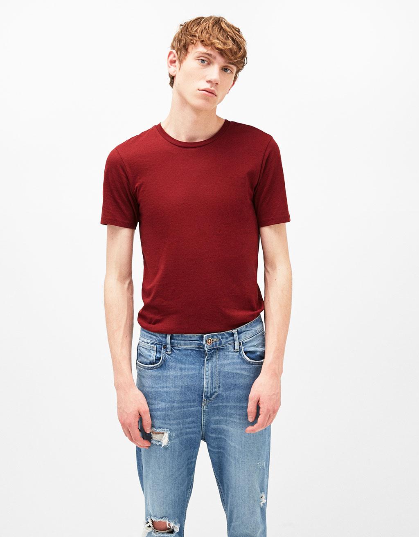 Μπλουζάκι βαμβακερό «Crew Neck»