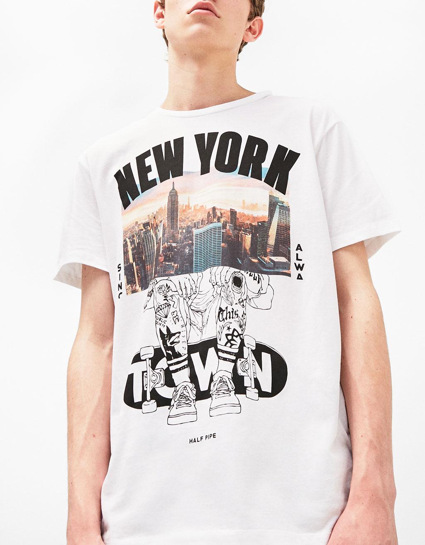 LA/TOKYO/NY T-shirt
