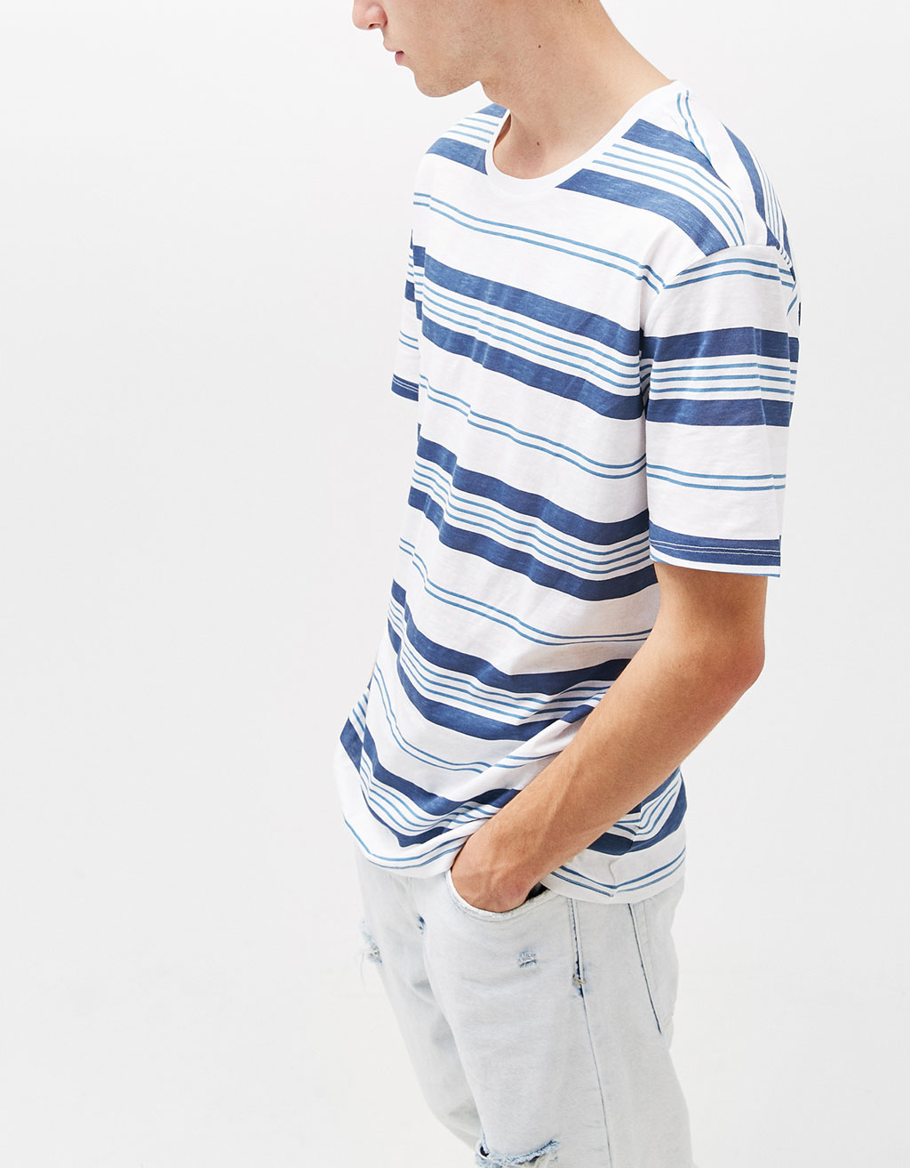 Multi-striped T-shirt