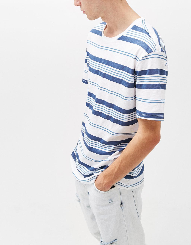 Multi-striped T-shirt