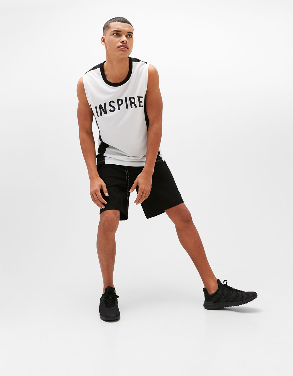 'Inspire' strappy sports T-shirt