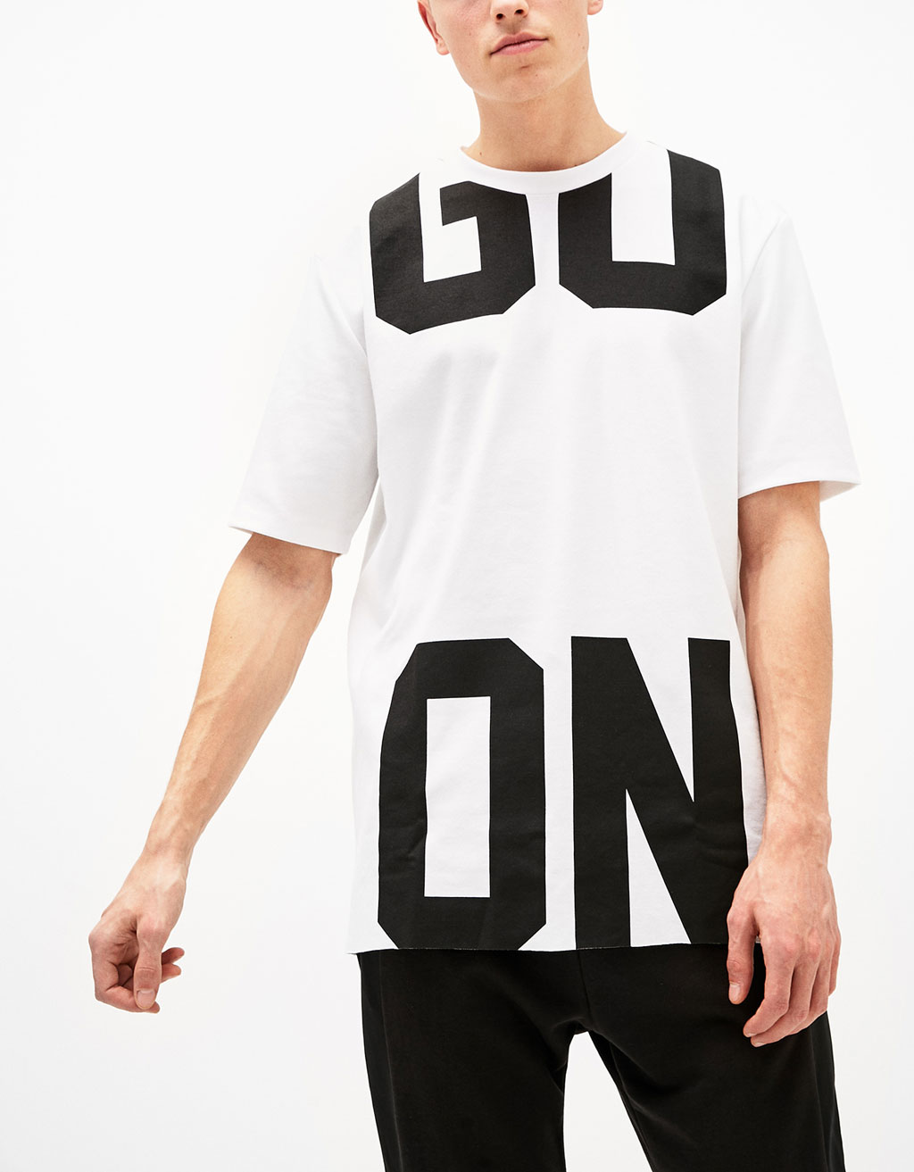 'GO ON' sports T-shirt
