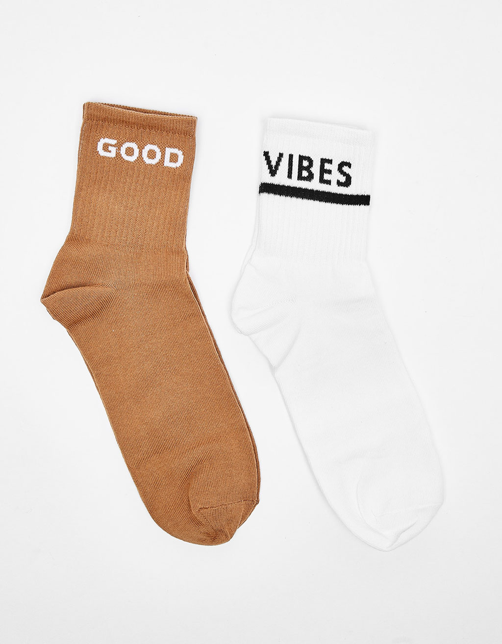 Set of 2 GOOD VIBES socks