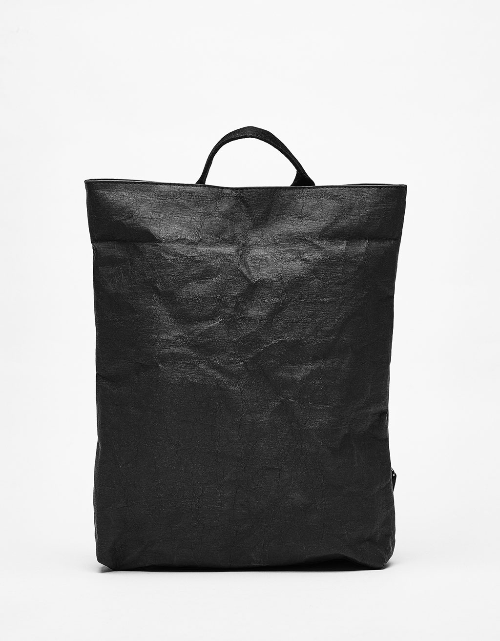 Paper effect backpack