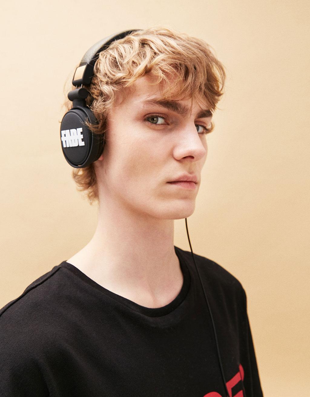 Écouteurs effet caoutchouté