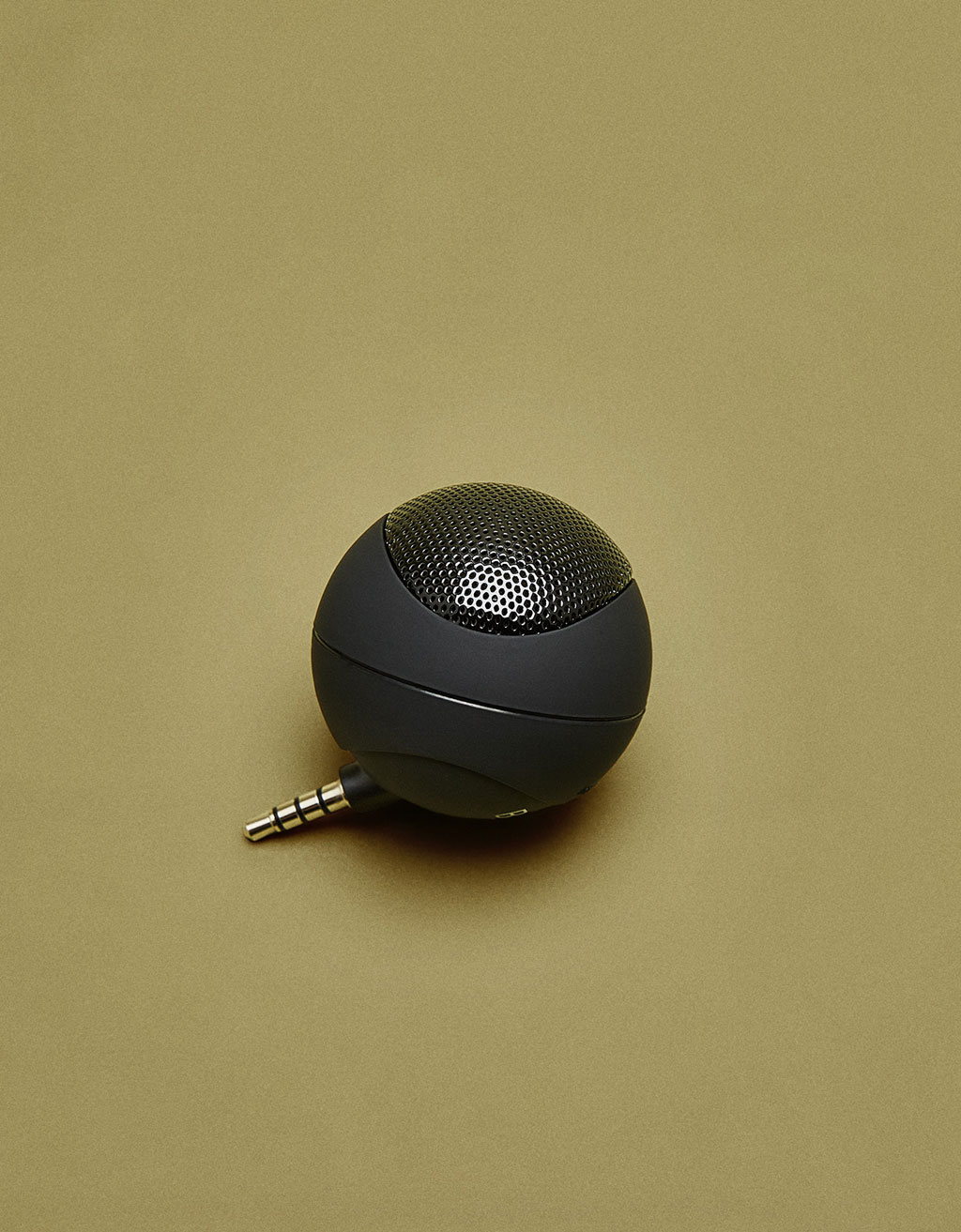 Rubberised effect speaker