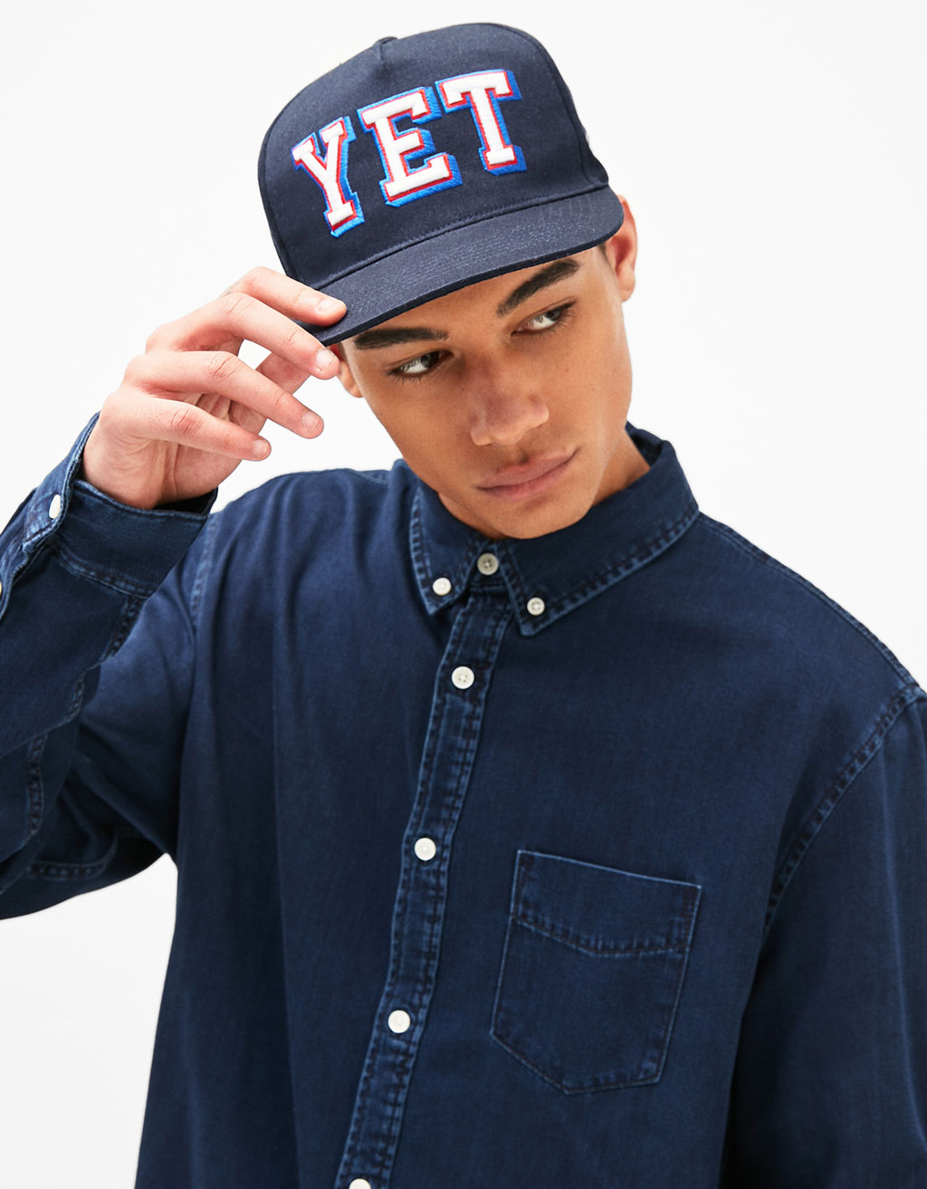 Embroidered 'YET' cap