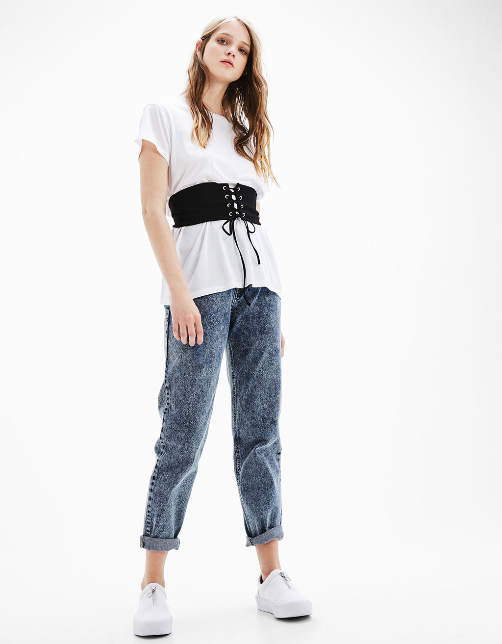 'Mom fit' jeans  hight waist