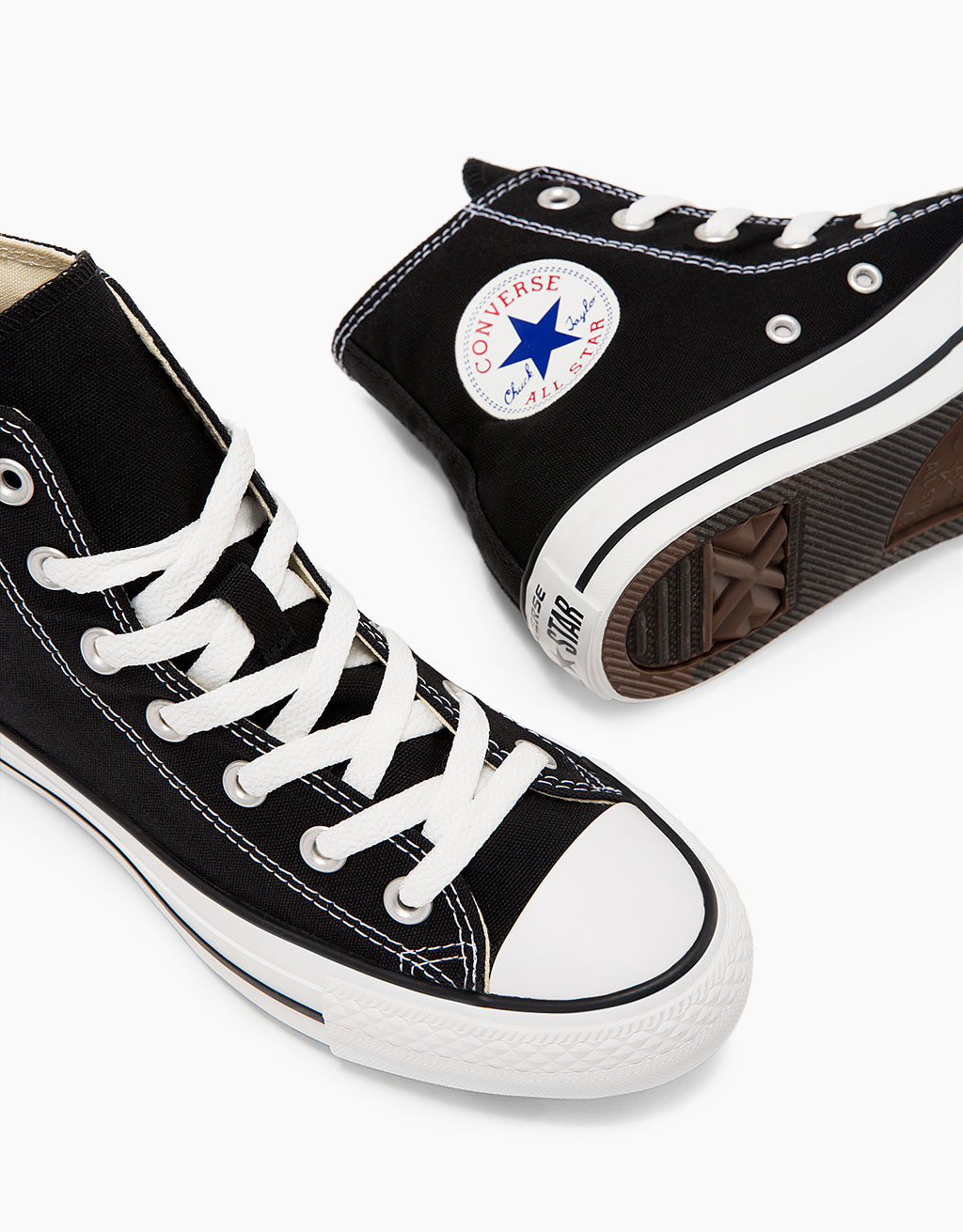 CONVERSE ALL STAR high top canvas sneakers
