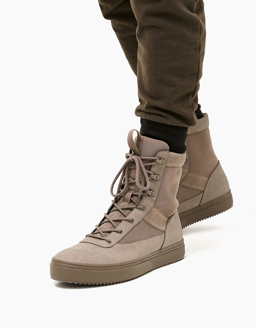 Men's combined high tops