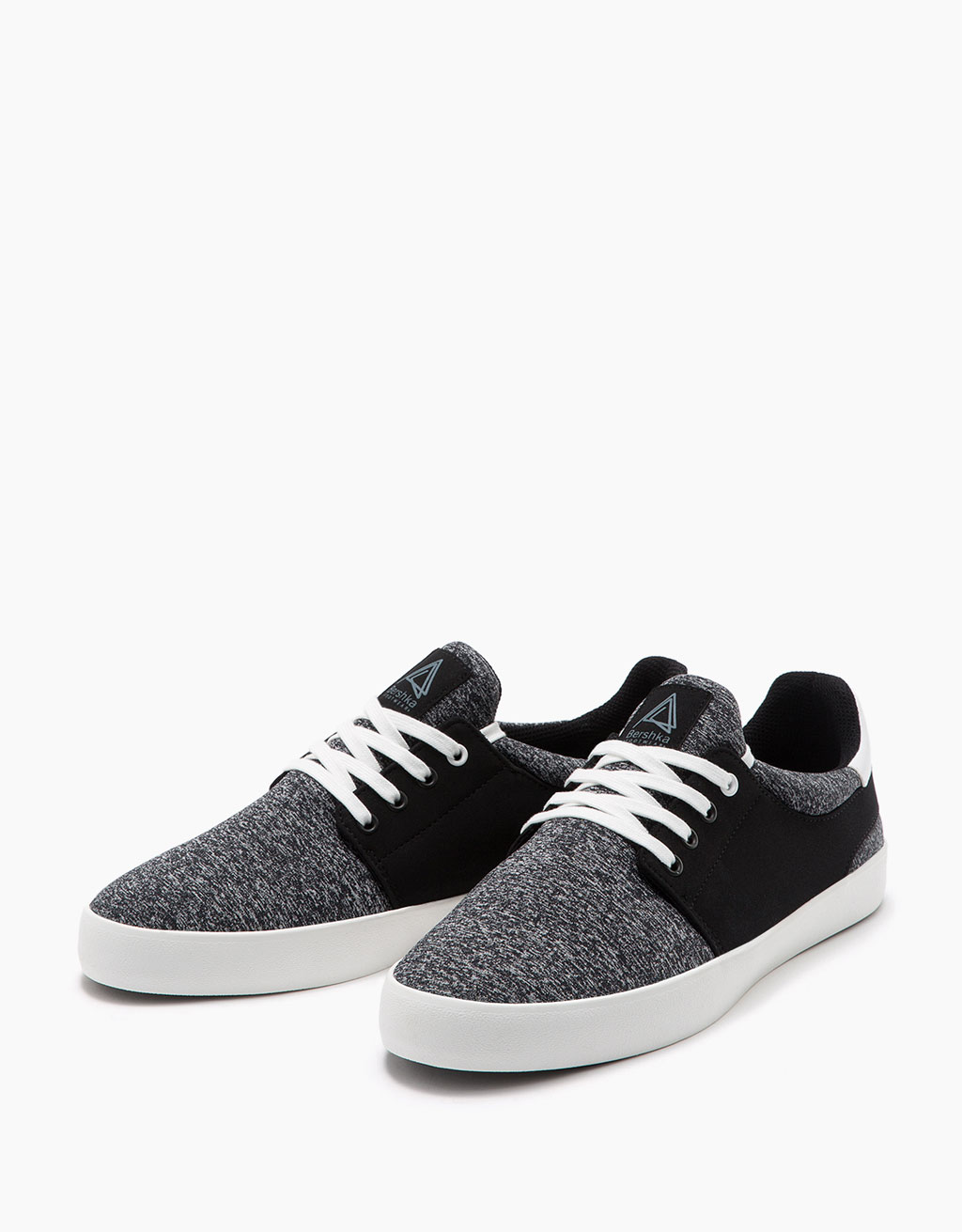 Men's technical combined fabric sports shoes