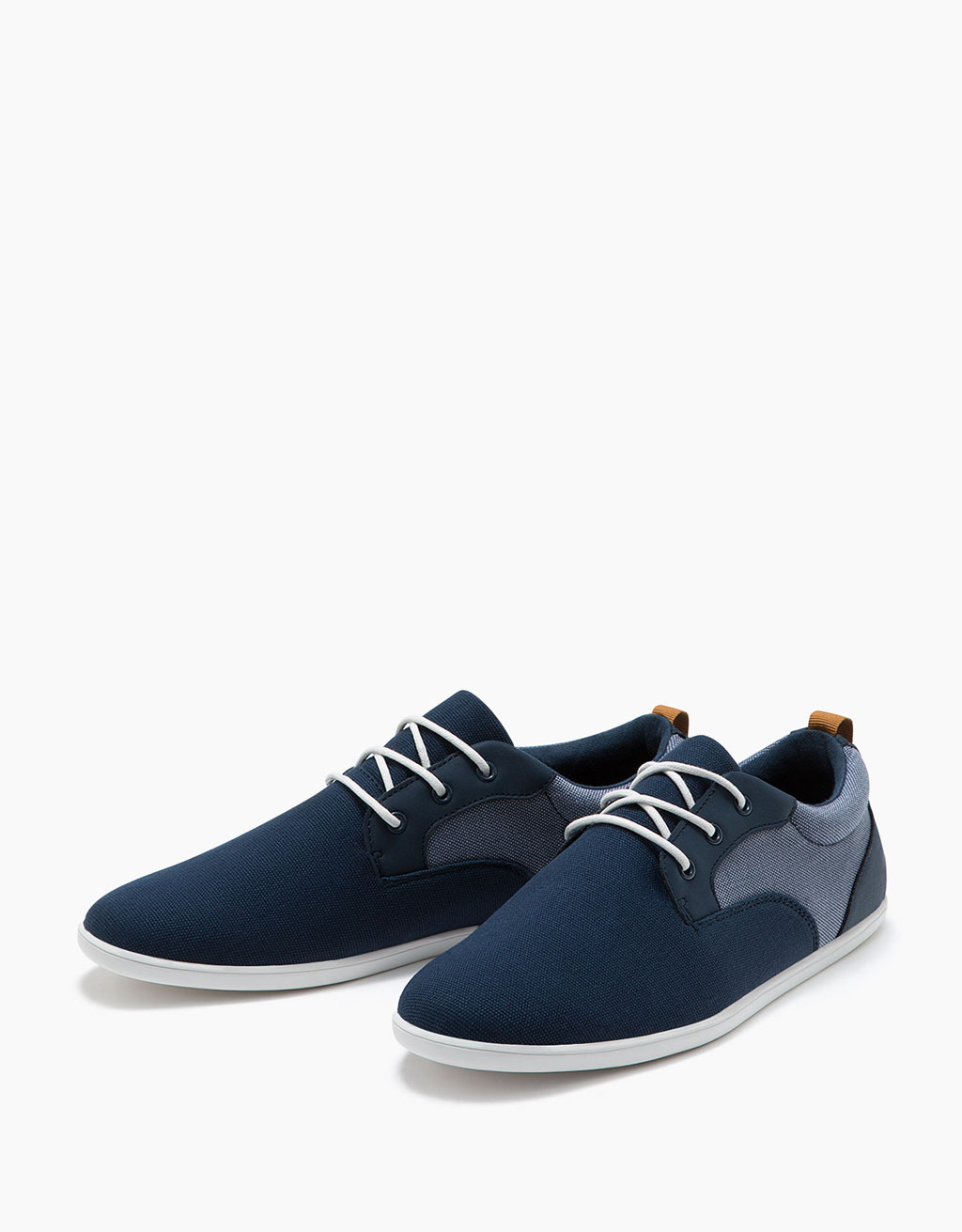 Men's combined lace-up shoes