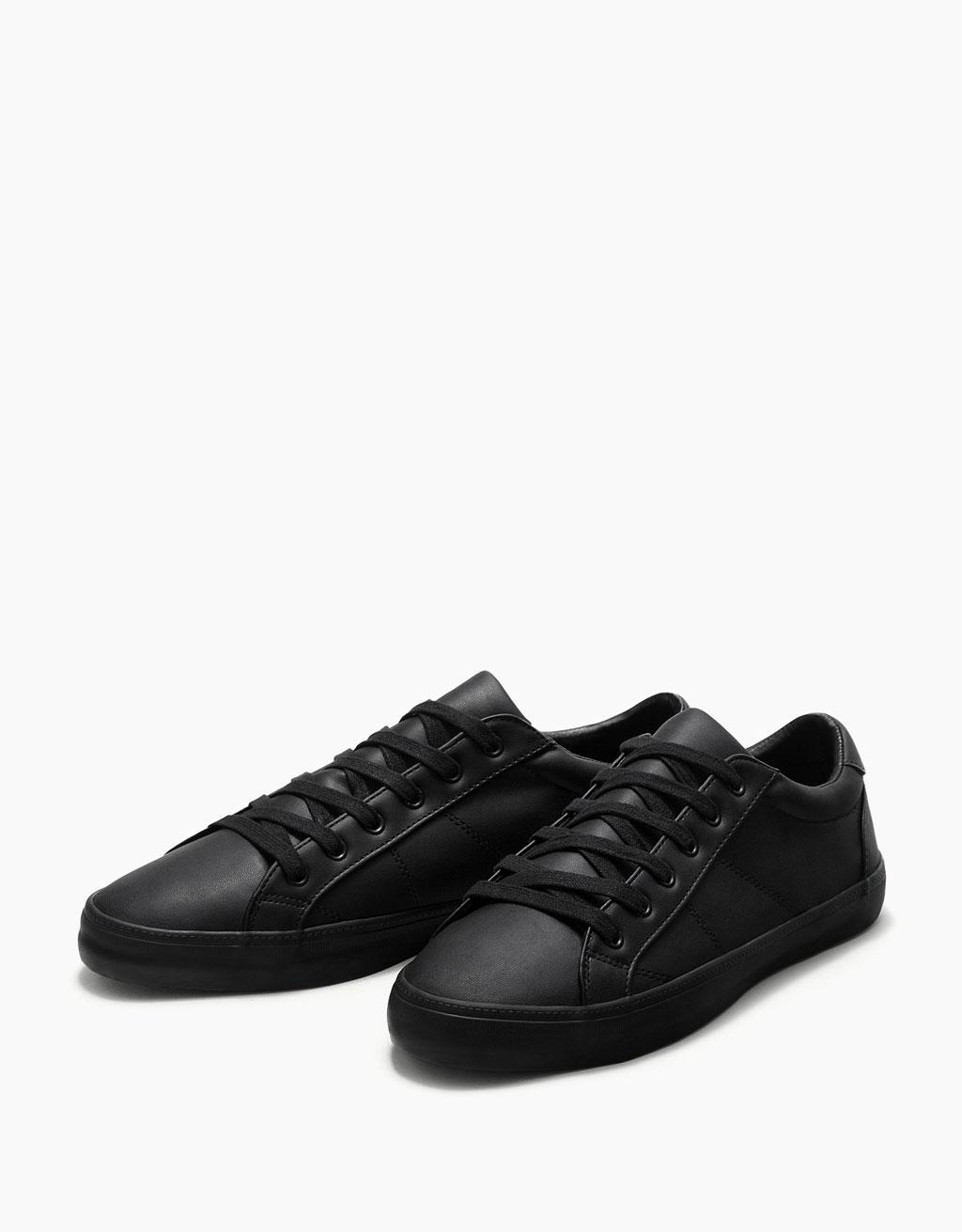 Men's single-colour sneakers