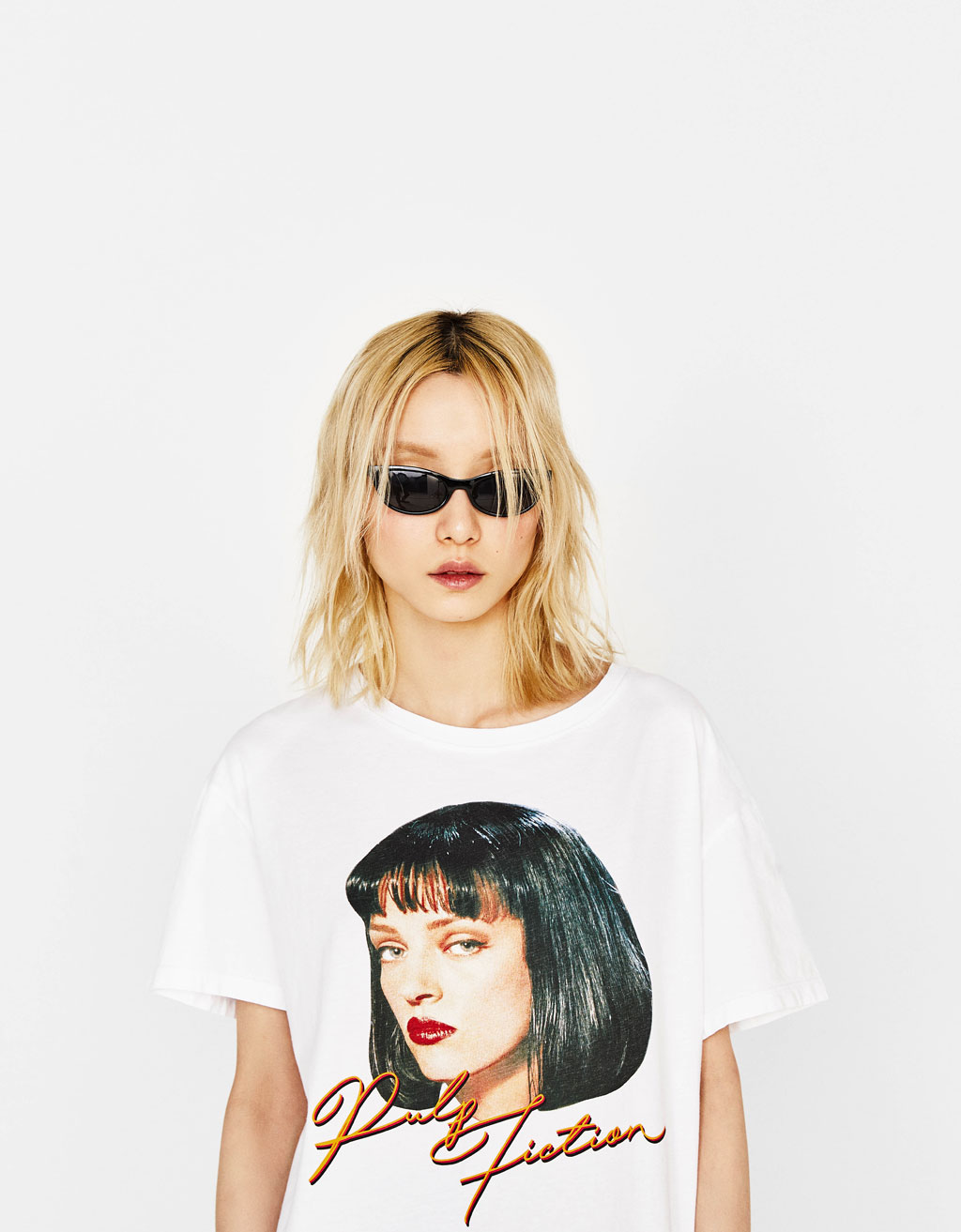 Pulp Fiction T-shirt with ecologically grown cotton