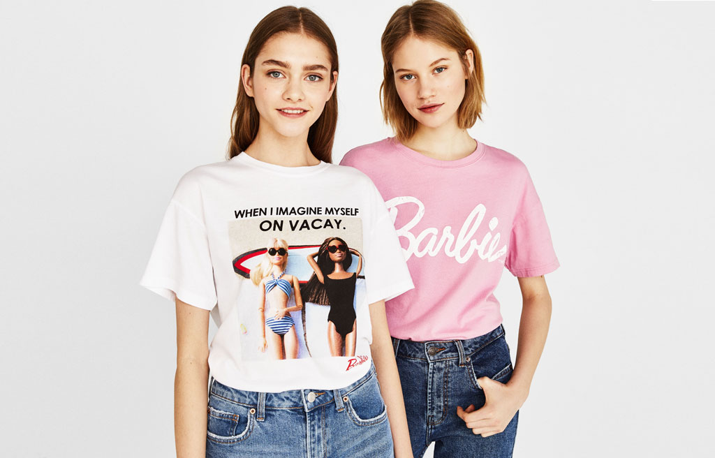 Ecologically grown cotton Barbie T-shirt
