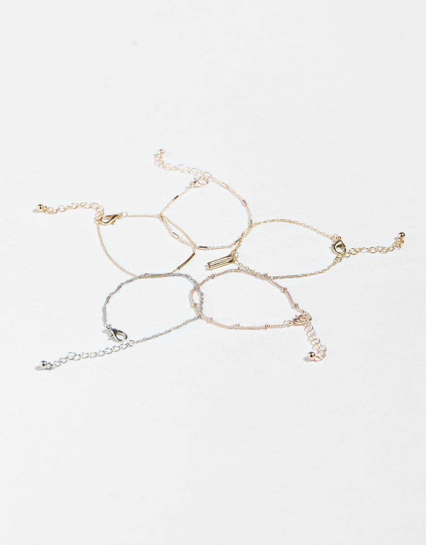 Set of 5 bracelets