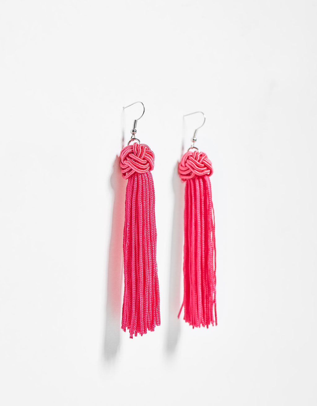 Cascading fringe earrings