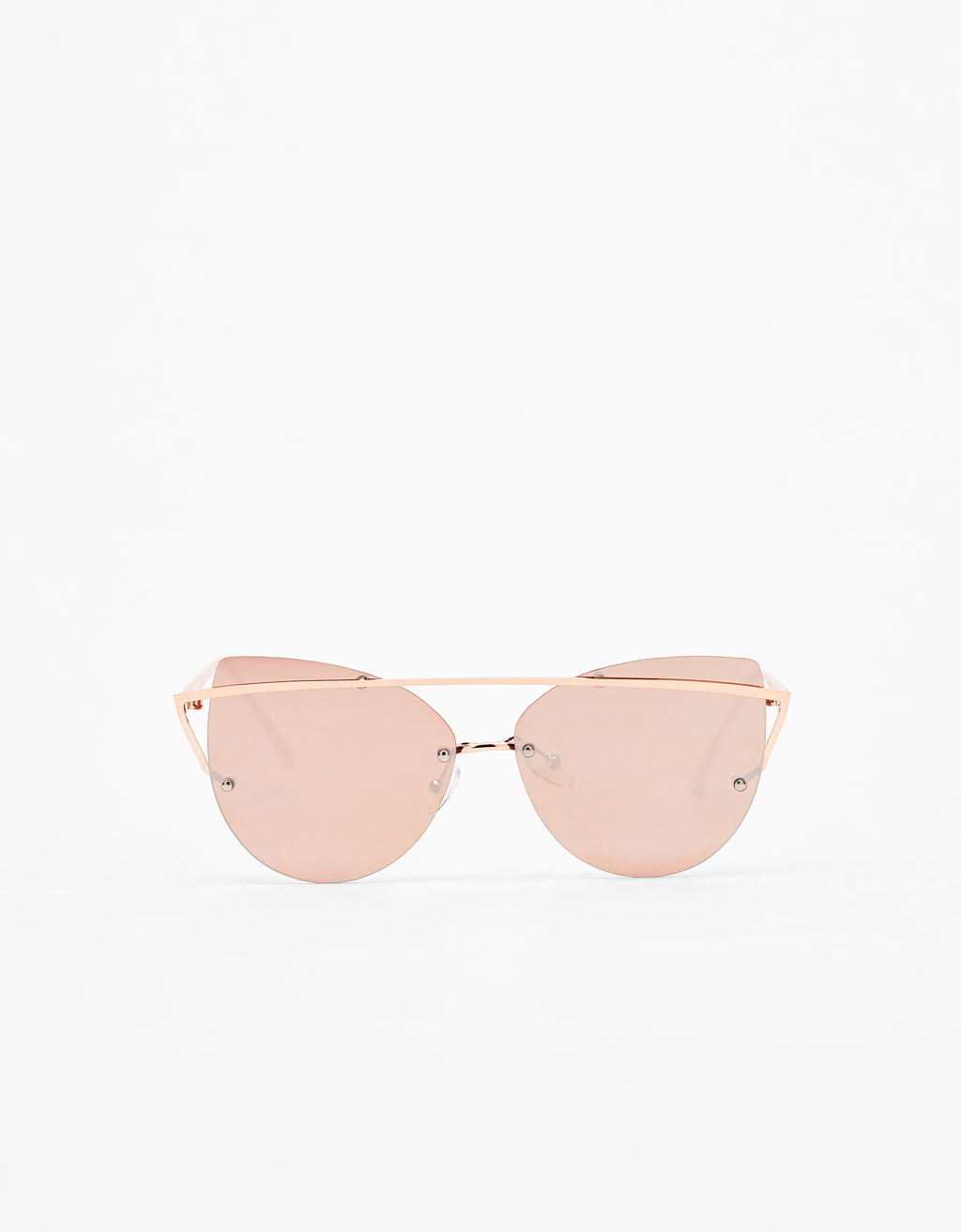 Metallic sunglasses