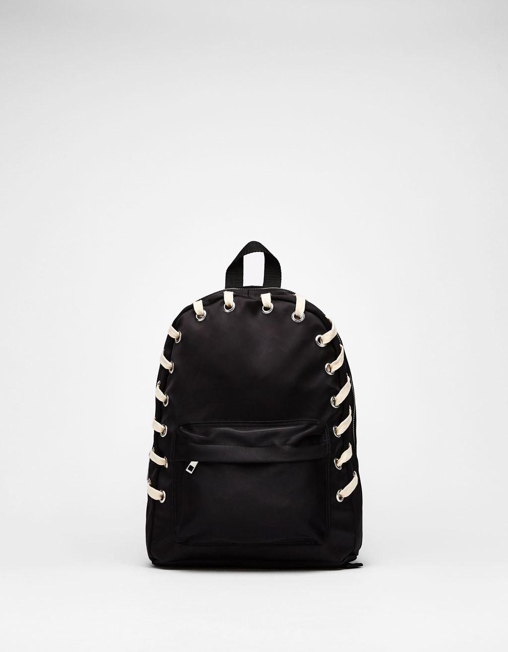 Lace-up backpack