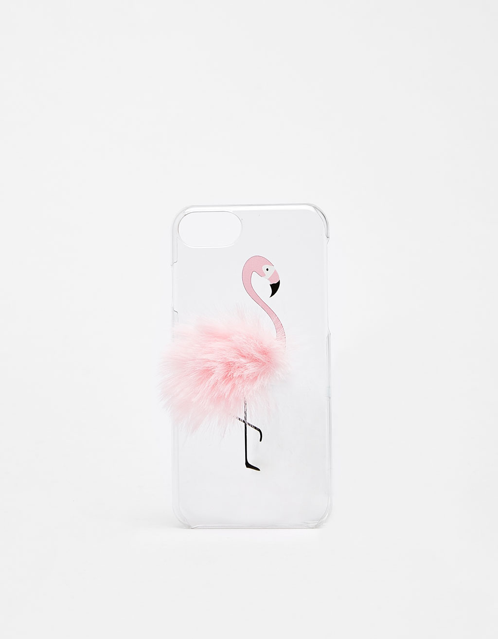 Flamingo with pompom iPhone6/6s/7 case