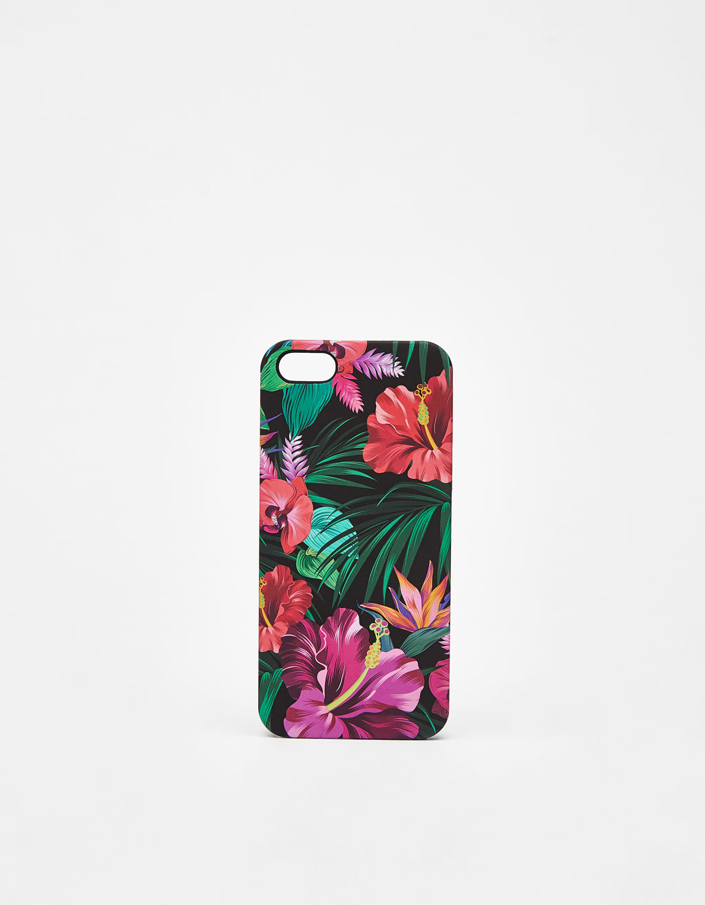 Carcasa de flores tropicales iPhone 5/5s