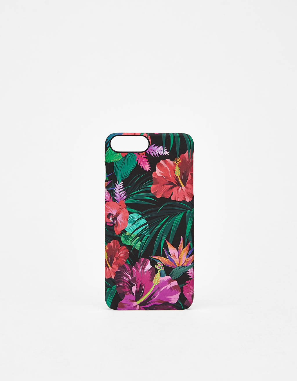 Carcasa de flores tropicales iPhone 6 plus/7 plus /8 plus
