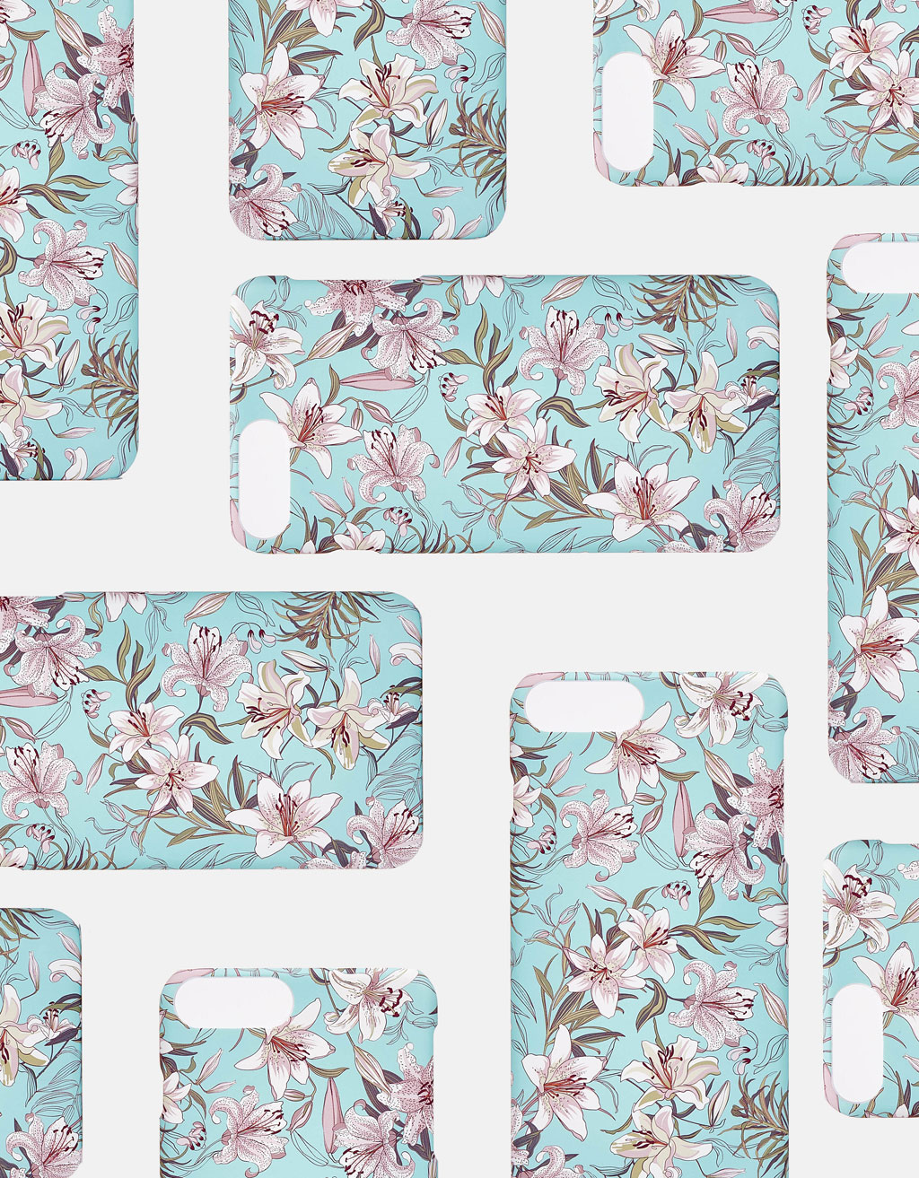 Floral iPhone 6/6s/7/8 case