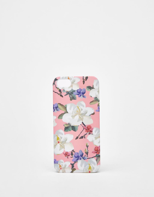 Carcasa de flores iPhone 5/5s
